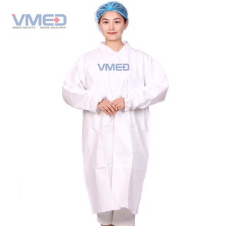 Disposable Protective Microporous Lab Coat