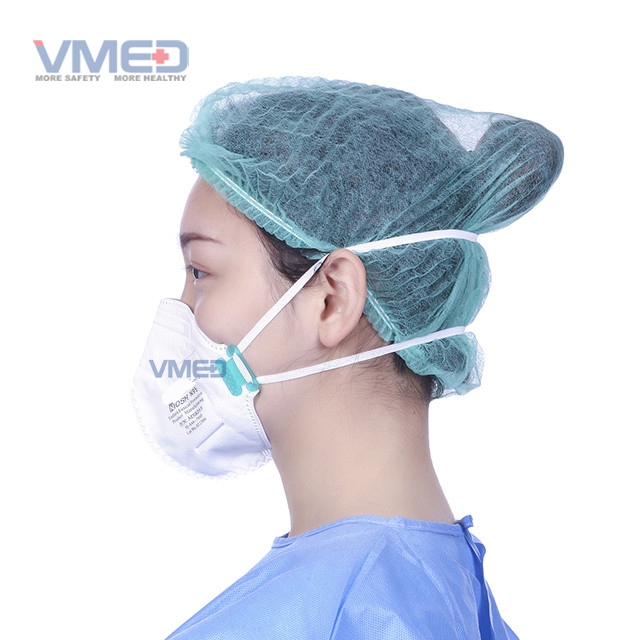 N95 Protective Face Mask Ventilated with elastic