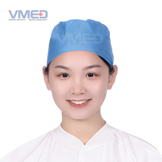 Disposable SMS+PP Doctor Cap With Elastic