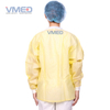 Yellow PP Chemical Protective Lab Coat