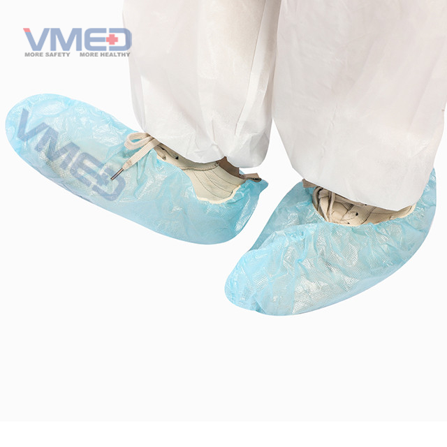 Disposable PP+PE Coated Shoe Cover