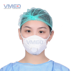 Disposable FFP2 Face Mask With Exhalation Valve