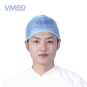 Blue Medical Non-woven Doctor Cap