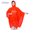 Disposable Red PE Rain Poncho