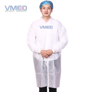 Industry Protective Disposable Non-woven Lab Coat