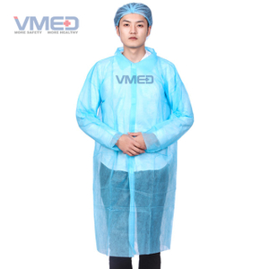 Disposable Industry Non-woven Lab Coat